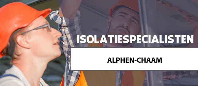 isolatie alphen-chaam 4861
