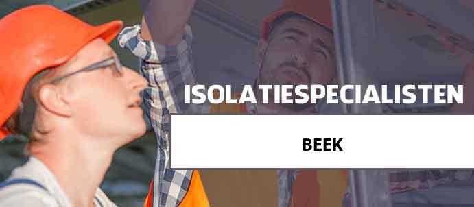 isolatie beek 6191