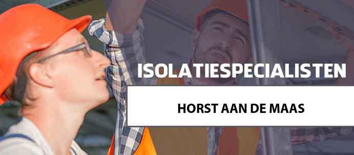 isolatie horst-aan-de-maas 5865