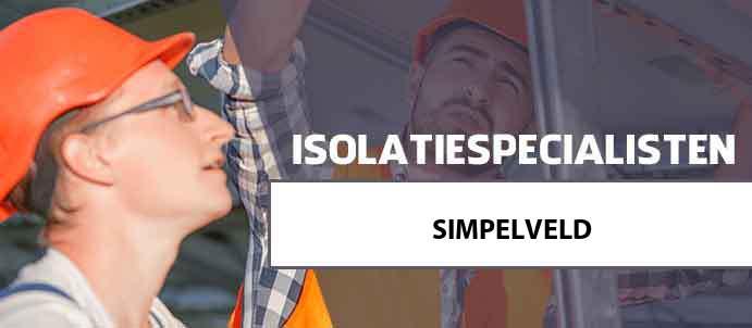 isolatie simpelveld 6369