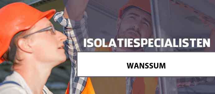 isolatie wanssum 5861