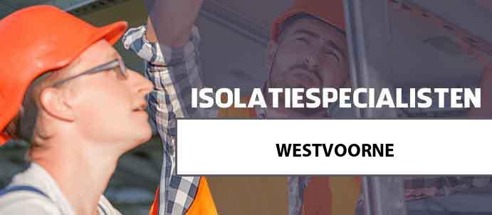 isolatie westvoorne 3234