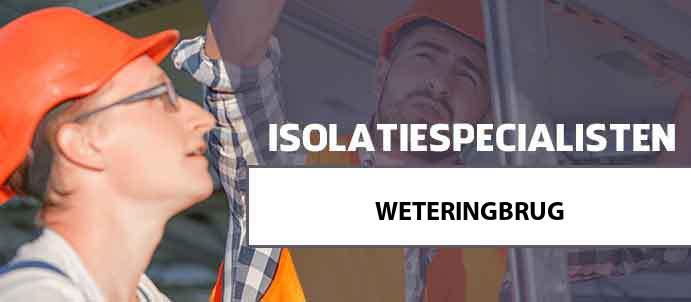 isolatie weteringbrug 2156